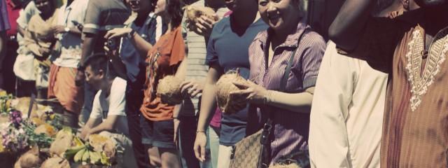 Thaipusam people