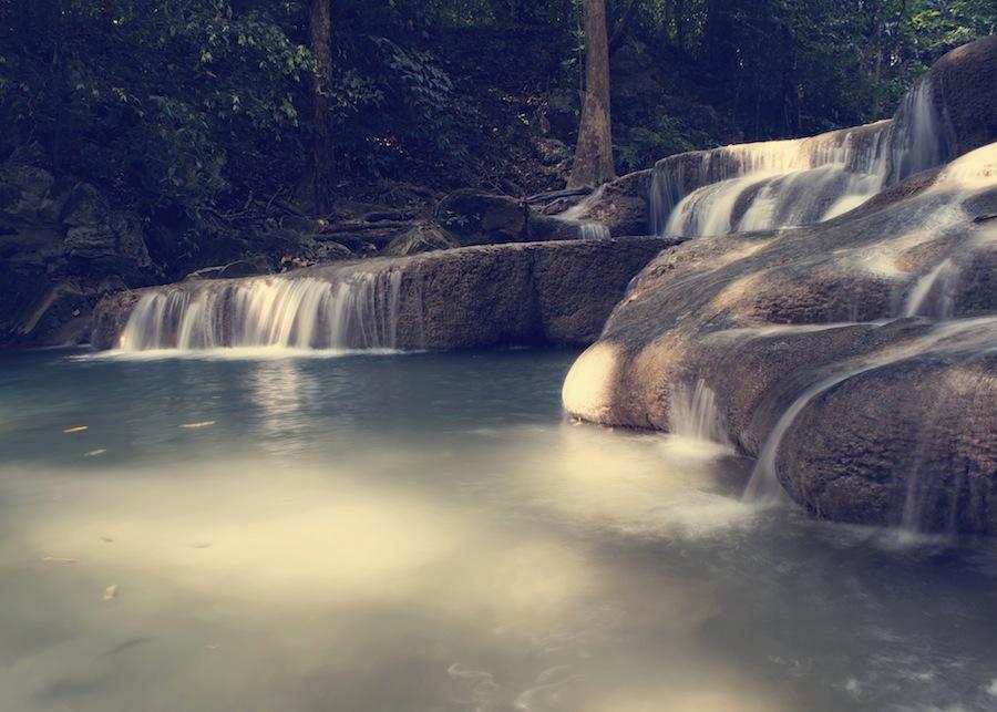 Waterfall Erawan National Park