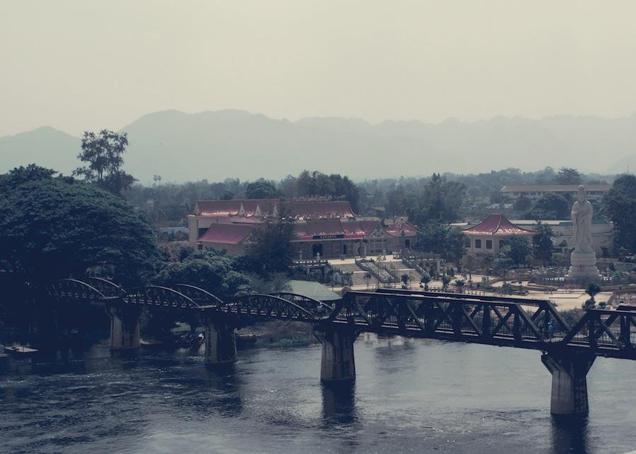 Bridge River Kwai Kanchanaburi